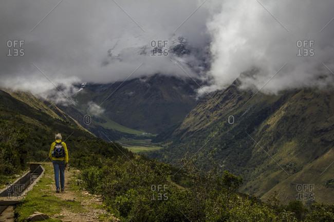 Moments on the Salkantay Trek to Machu Picchu in Peru.