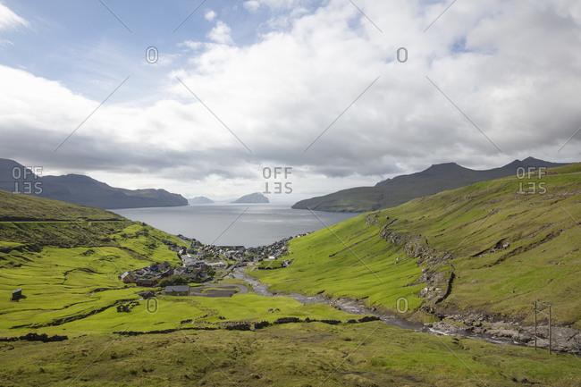 Breathtaking landscape in the Faroe Islands