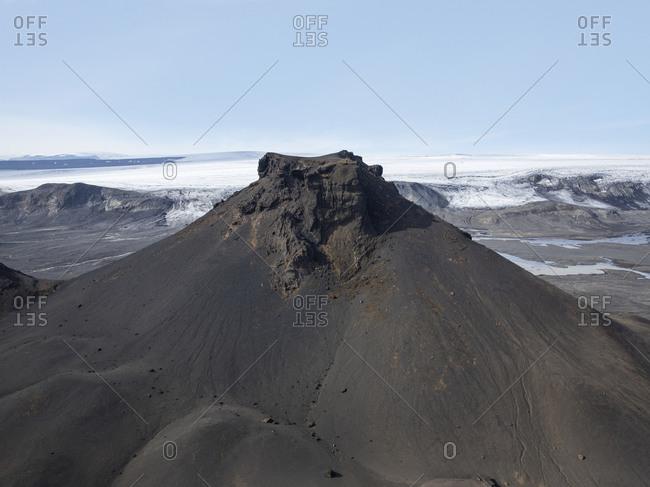 Mt Jarlhettur in the central highlands of Iceland