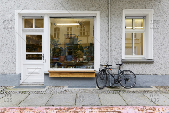Exterior view of art studio