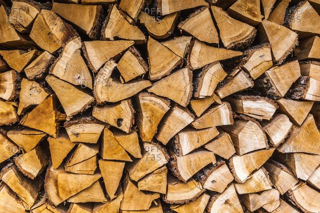 France,  Limousine,  Coreze,  bundle of wood
