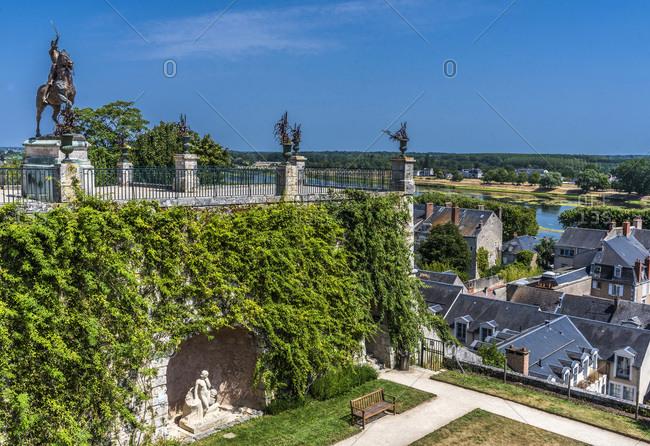 France,  Center-Val de Loire,  Loir et Cher,  bishopric gardens of Blois