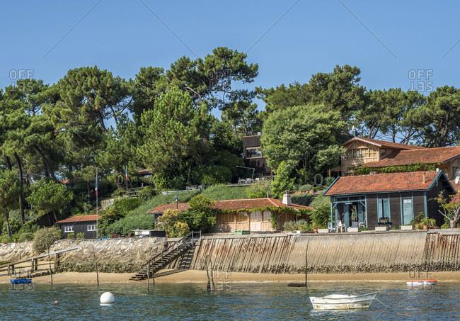 France,  Arcachon bay,  Cap Ferret,  oyster village of Piraillan