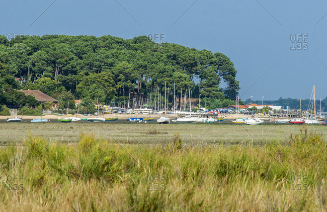 France,  Arcachon bay,  Cap Ferret,  Claouey