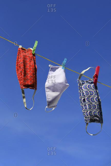 Alternative masks drying
