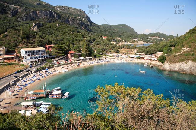 Greece,  Ionian islands,  Paleocastrizza - Offset