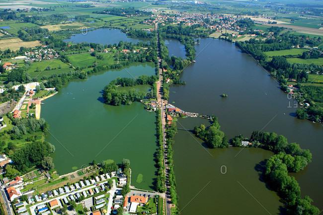 France,  Pas-de-Calais,  Adres,  aerial view