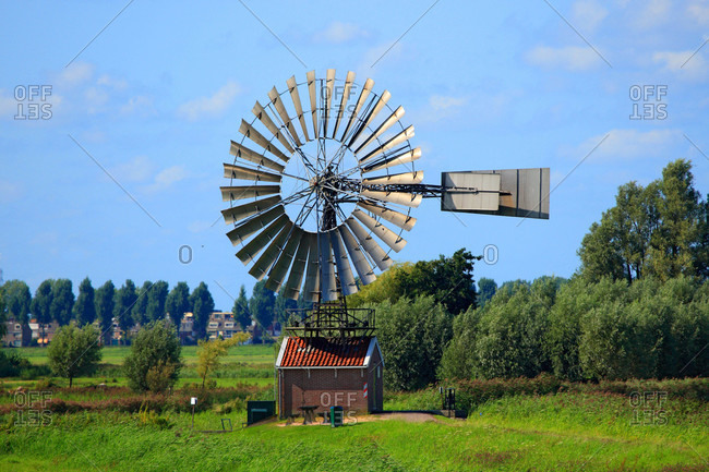 Netherlands,  wind machine