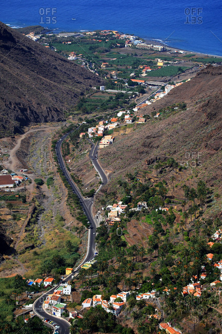 Spain,  canary islands,  Gomera,  Valle Gran rey