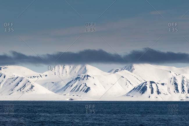 Monaco Glacier, Spitzbergen, Svalbard Islands, Norway