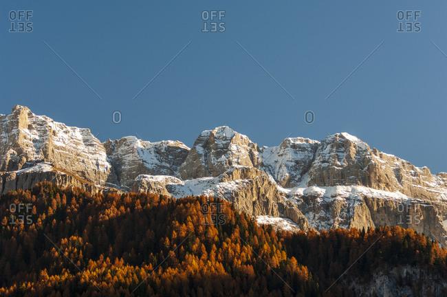 Sella, Val Gardena, Dolomites, Bolzano, Trentino - Alto Adige, Italy