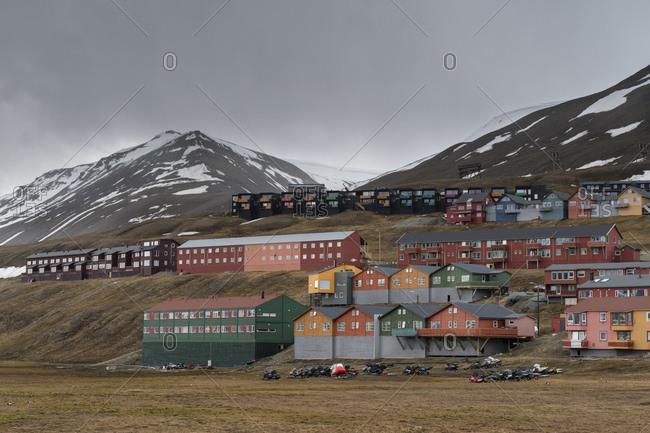 Longyearbyen, Spitsbergen, Svalbard, Norway - Offset