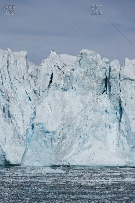 Lilliehook Glacier, Spitsbergen, Svalbard, Norway