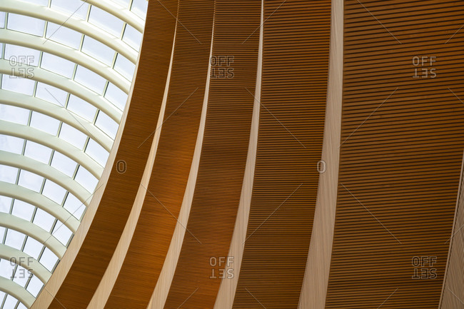 January 1, 1970: Europe, Switzerland, City of Zurich, interior shot of the law library of the University of Zurich