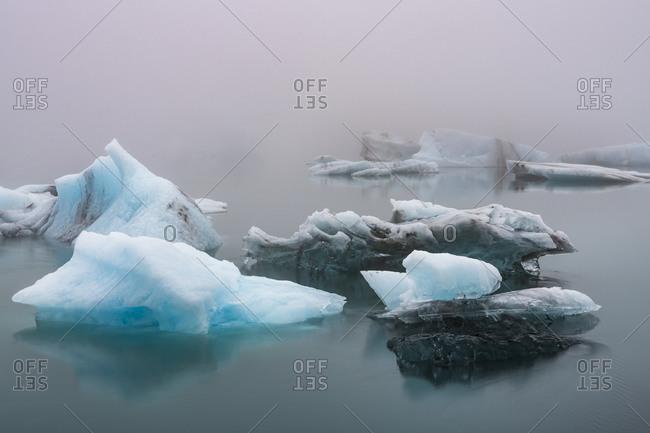 Europe, Iceland, South Iceland, Jokulsarlon, ice formations