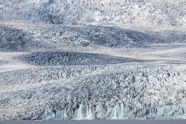 Europe, Iceland, South Iceland, Skaftfell Glacier