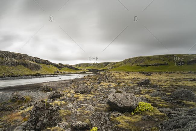 Europe, Iceland, South Iceland, river landscape