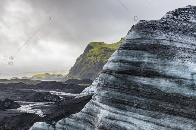 Europe, Iceland, South Iceland, Vik i Myrdal, Katla ice cave