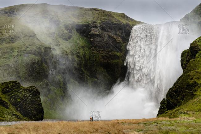 Europe, Iceland, South Iceland, Skogafoss