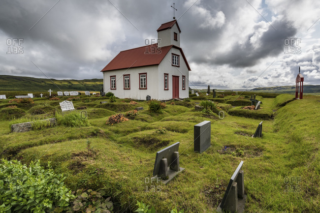 January 1, 1970: Europe, Iceland, South Iceland, traditional church