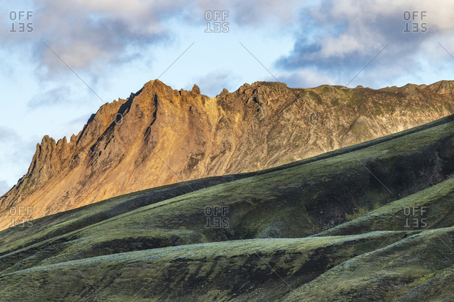 Europe, Iceland, Scenery of the highlands