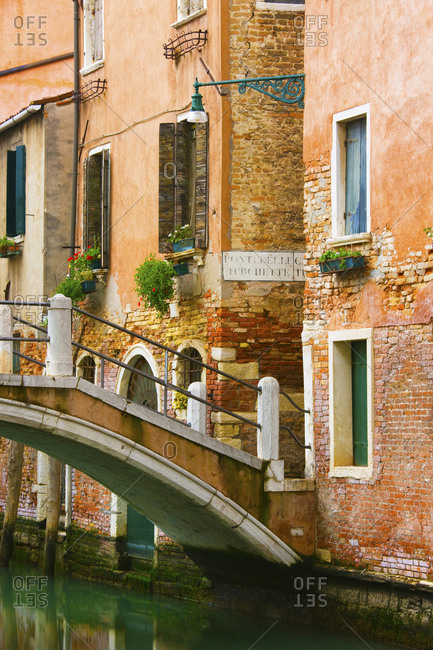 Bridge over Canal, Venice, Italy