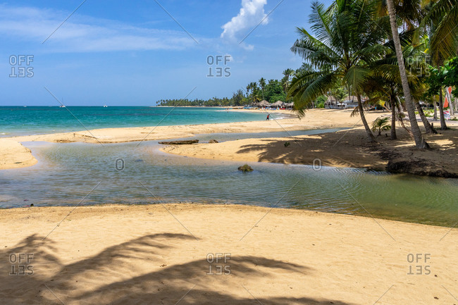 America, Caribbean, Greater Antilles, Dominican Republic, Samana, Las Terrenas Public Beach