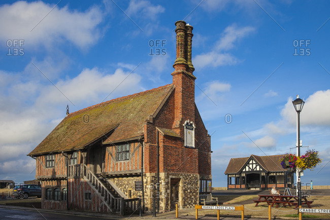 July 30, 2013: The Moot Hall, Aldeburgh, Suffolk, England, United Kingdom, Europe