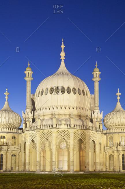 October 2, 2011: Brighton Pavilion, Brighton, Sussex, England, United Kingdom, Europe