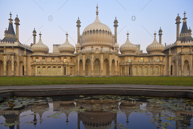 October 3, 2011: Brighton Pavilion, Brighton, Sussex, England, United Kingdom, Europe