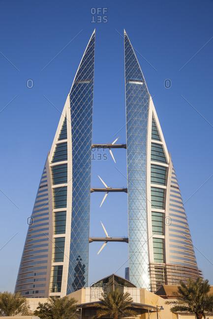 December 3, 2014: Bahrain World Trade Center, Manama, Bahrain, Middle East