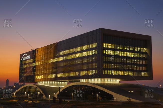 December 3, 2014: Arcapita Bank, Bahrain Bay, Manama, Bahrain, Middle East