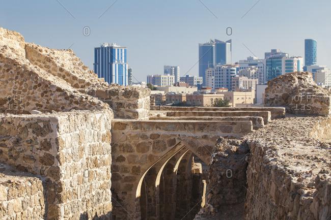 December 3, 2014: Bahrain Fort, Manama, Bahrain, Middle East