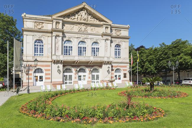 June 17, 2019: Theatre, Baden-Baden, Black Forest, Baden-Wurttemberg, Germany, Europe