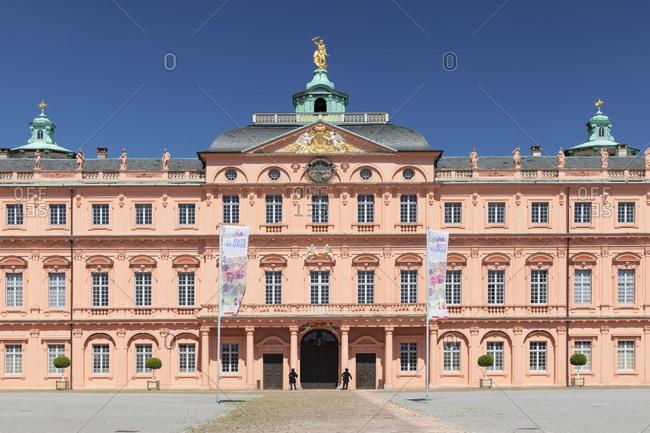 June 17, 2019: Schloss Rastatt Castle, Black Forest, Baden-Wurttemberg, Germany, Europe