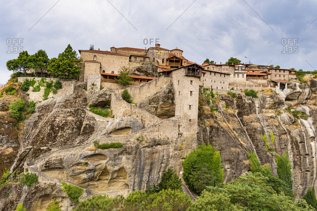 Holy Monastery of Great Meteoron, UNESCO World Heritage Site, Meteora Monasteries, Greece, Europe