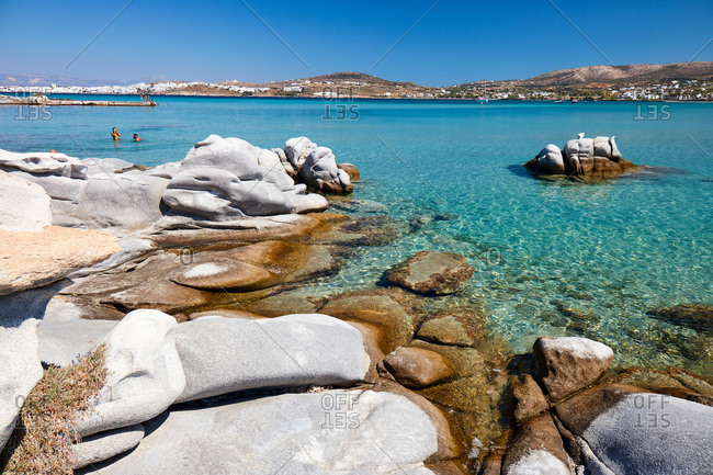 Kolimpithres beach, Paros, Cyclades Islands, Greek Islands, Greece, Europe