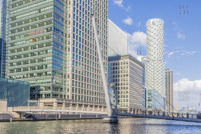 June 13, 2020: Canary Wharf, Docklands, London, England, United Kingdom, Europe