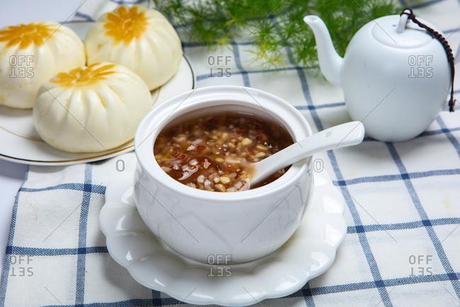 Sheng jian bao chineese food to eat