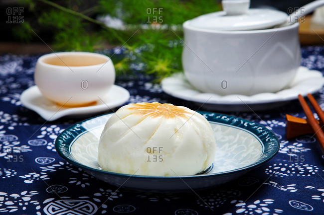 Sheng jian bao chineese food to eat
