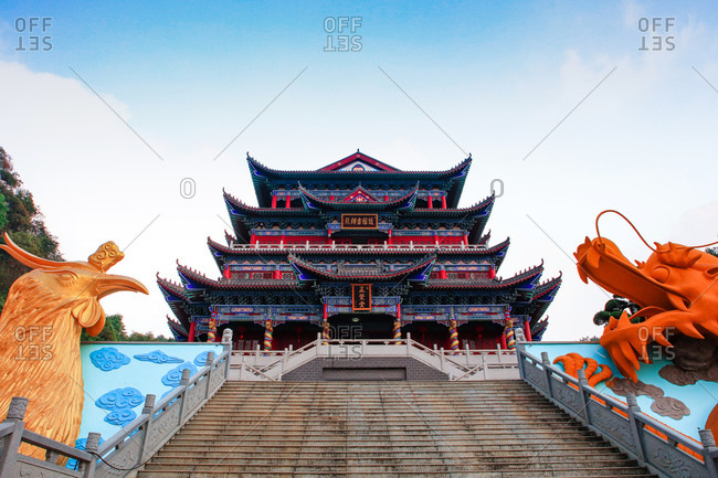 October 12, 2019: Guangdong shaoguan donghua temple