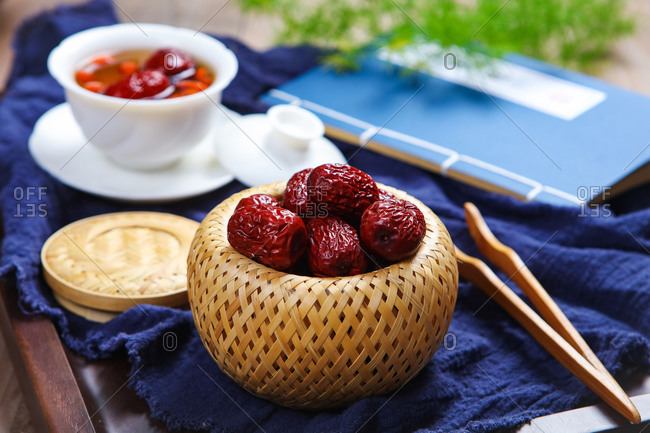 Red jujube medlar health tea