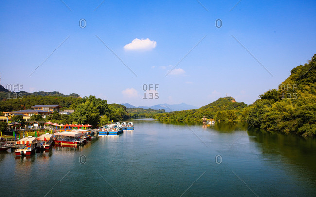 Shaoguan, guangdong danxia mountain scenery