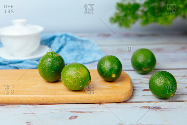 A close-up shot of a lime