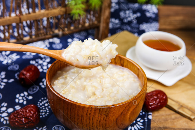 Nutrition delicious rice porridge ready to eat