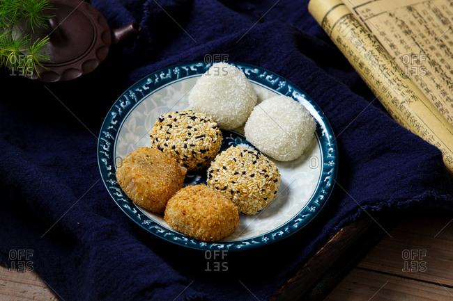 Small hakka rice cake detail