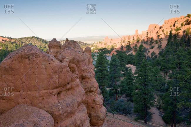Red Rock Canyon, Bryce, Utah, USA