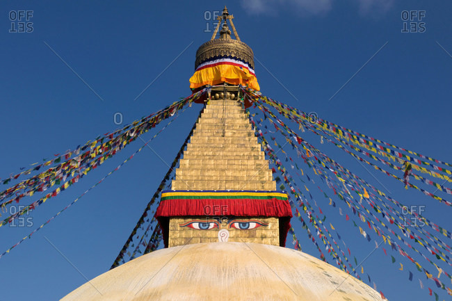 Main Stupa, Boudhanath, Kathmandu, Nepal