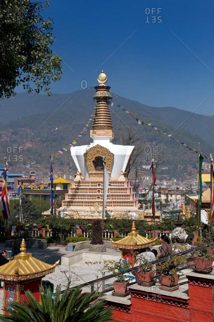 Stupa, Buddha Park, Kathmandu, Nepal