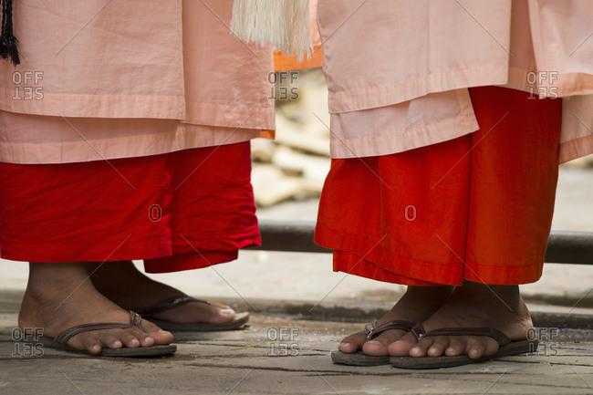 Buddhist Monks in Mandalay, Myanmar